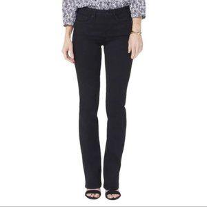 NYDJ Barbara Bootcut Jeans in Black 8P